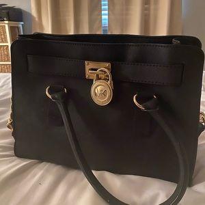 Michael lies Hamilton satchel black bag